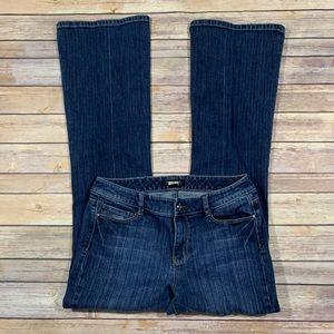 WHBM women's bootcut jeans size 6